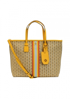 Tory Burch - 【5/23入荷】GEMINI LINK CANVAS SMALL TOTE