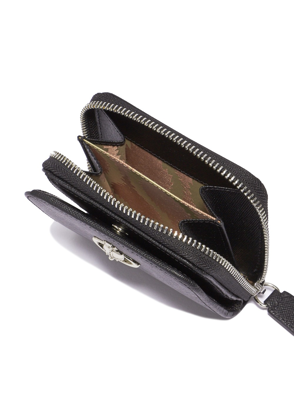 【最大59%OFF】【6/6入荷】PIMLICO MEDIUM ZIP WALLET|BLACK|レディース財布|Vivienne Westwood