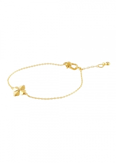 【Price Down】 LEGACY LOGO SPADE FLOWER SOLITAIRE BRACELET