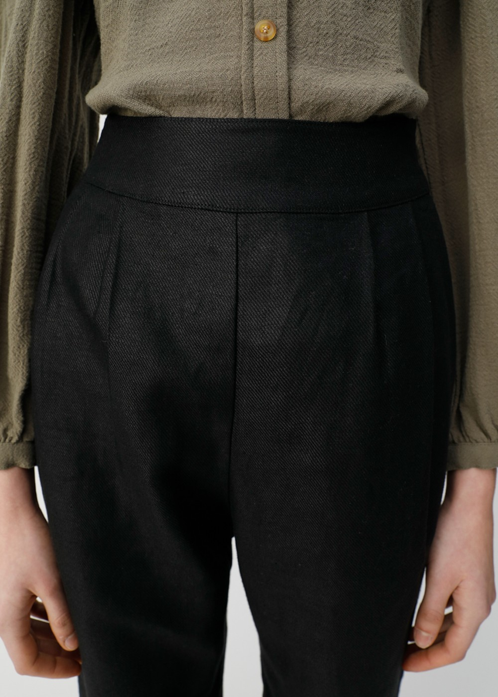 【最大70%OFF】BOW TIE HEM PANTS|BLK|その他パンツ|MOUSSY