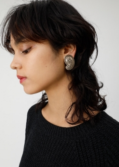 PAISLEY MOTIF EARRINGS