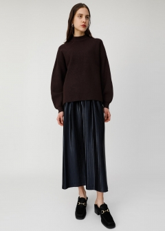 RANDOM PLEATED MEDIUM SKIRT