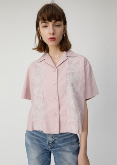 EMBROIDERED OPEN SHIRT