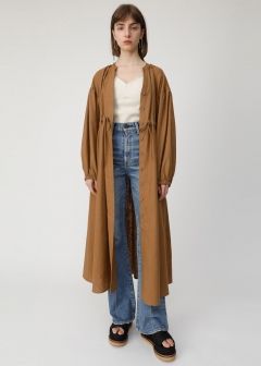2WAY LINEN LONG SHIRT