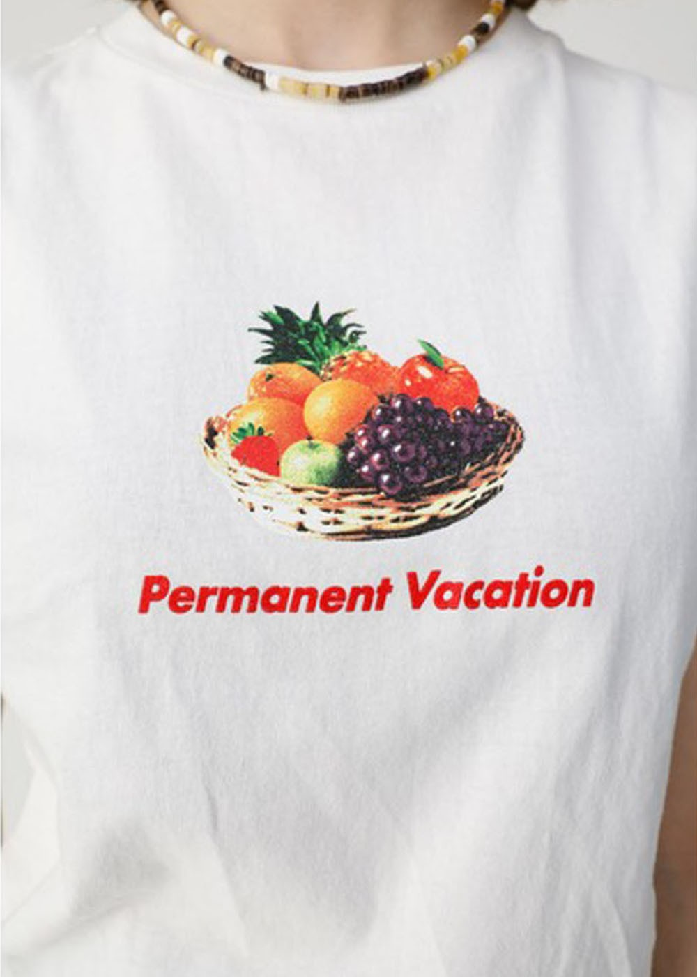 【最大70%OFF】PERMANENT VACATION TSJ|WHT|Tシャツ|MOUSSY