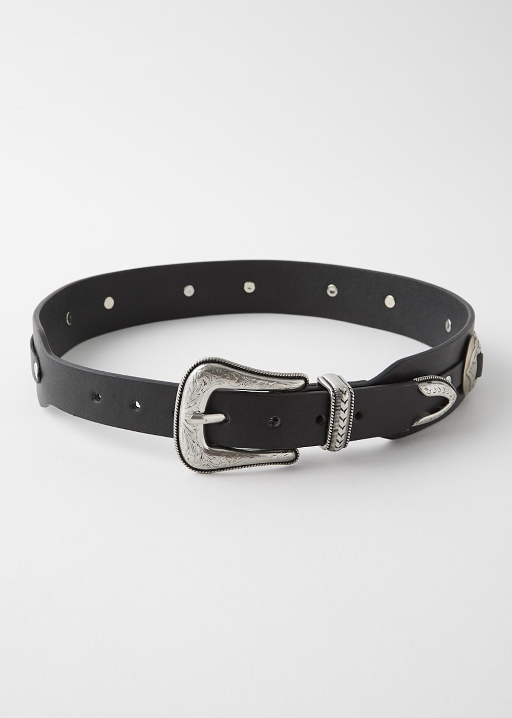 【最大70%OFF】CONCHO BELT|BLK|ベルト|MOUSSY