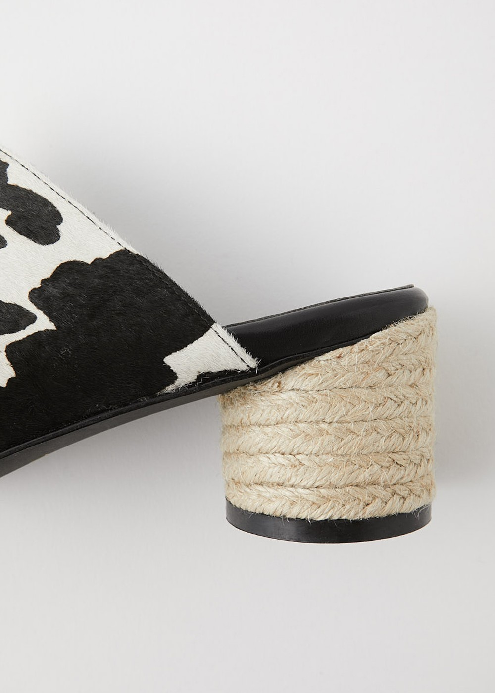 【最大70%OFF】JUTE ROUND HEEL COW MULE|Multi_1|サンダル|MOUSSY