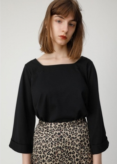 2 WAY CROP SLEEVE TOP