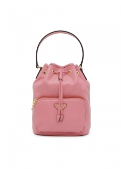 PRADA - Bag - LEATHER BUCKET BAG
