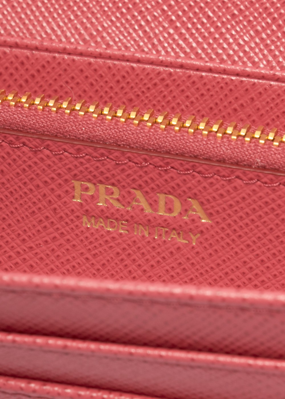 【最大36%OFF】【6/25入荷】LEATHER CONTINENTAL WALLET|PEONIA|レディース財布|PRADA - wallet and more