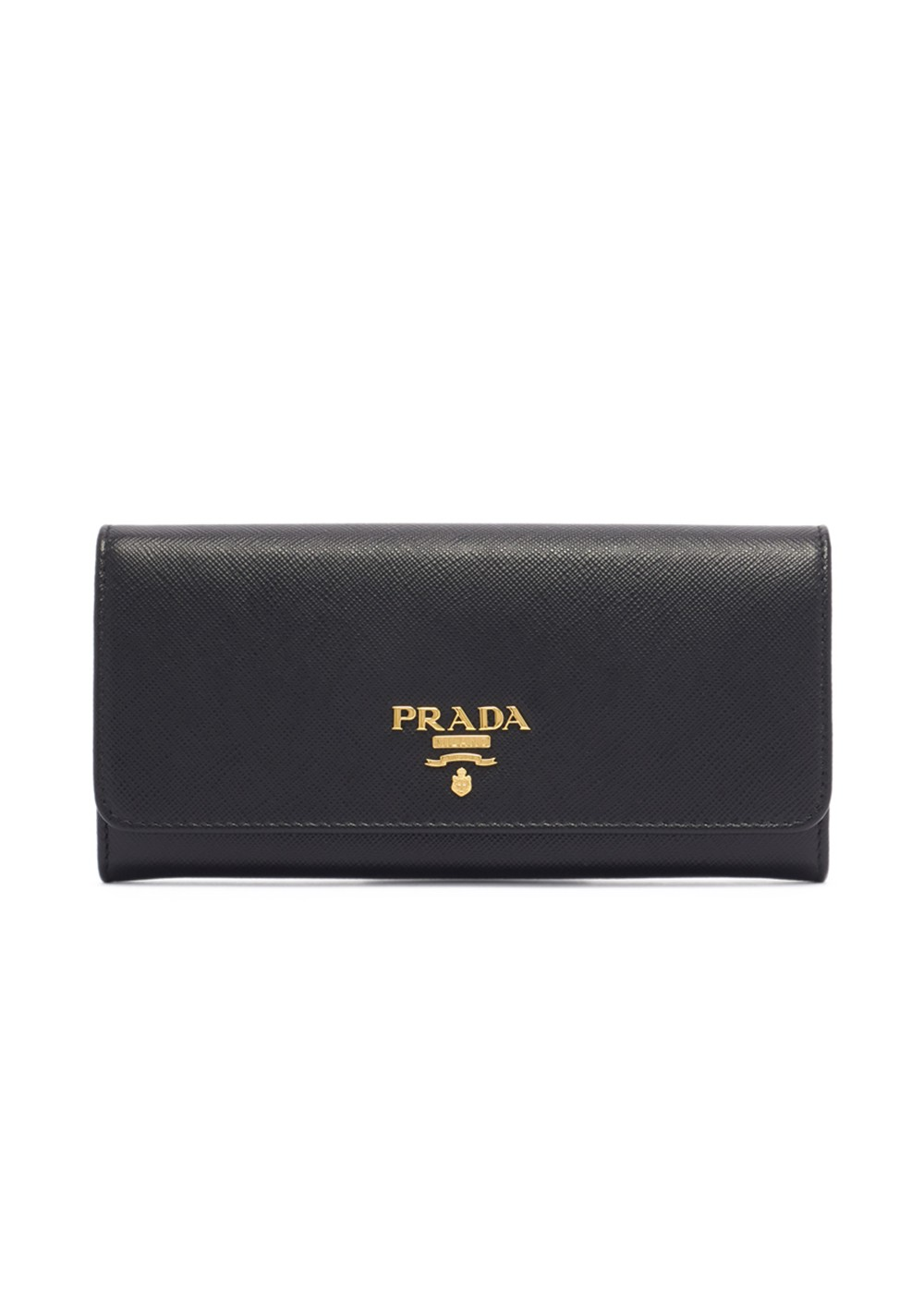 【最大36%OFF】【6/25入荷】LEATHER CONTINENTAL WALLET|NERO|レディース財布|PRADA - wallet and more