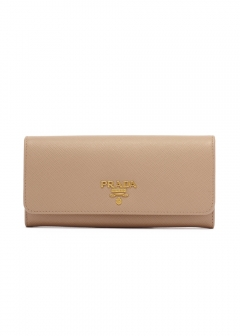 PRADA - wallet and more - 【6/25入荷】LEATHER CONTINENTAL WALLET