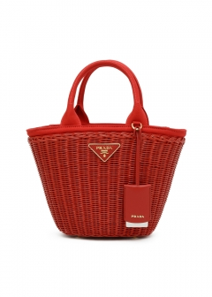 【6/25入荷】CANAPA WICKER HANDBAG