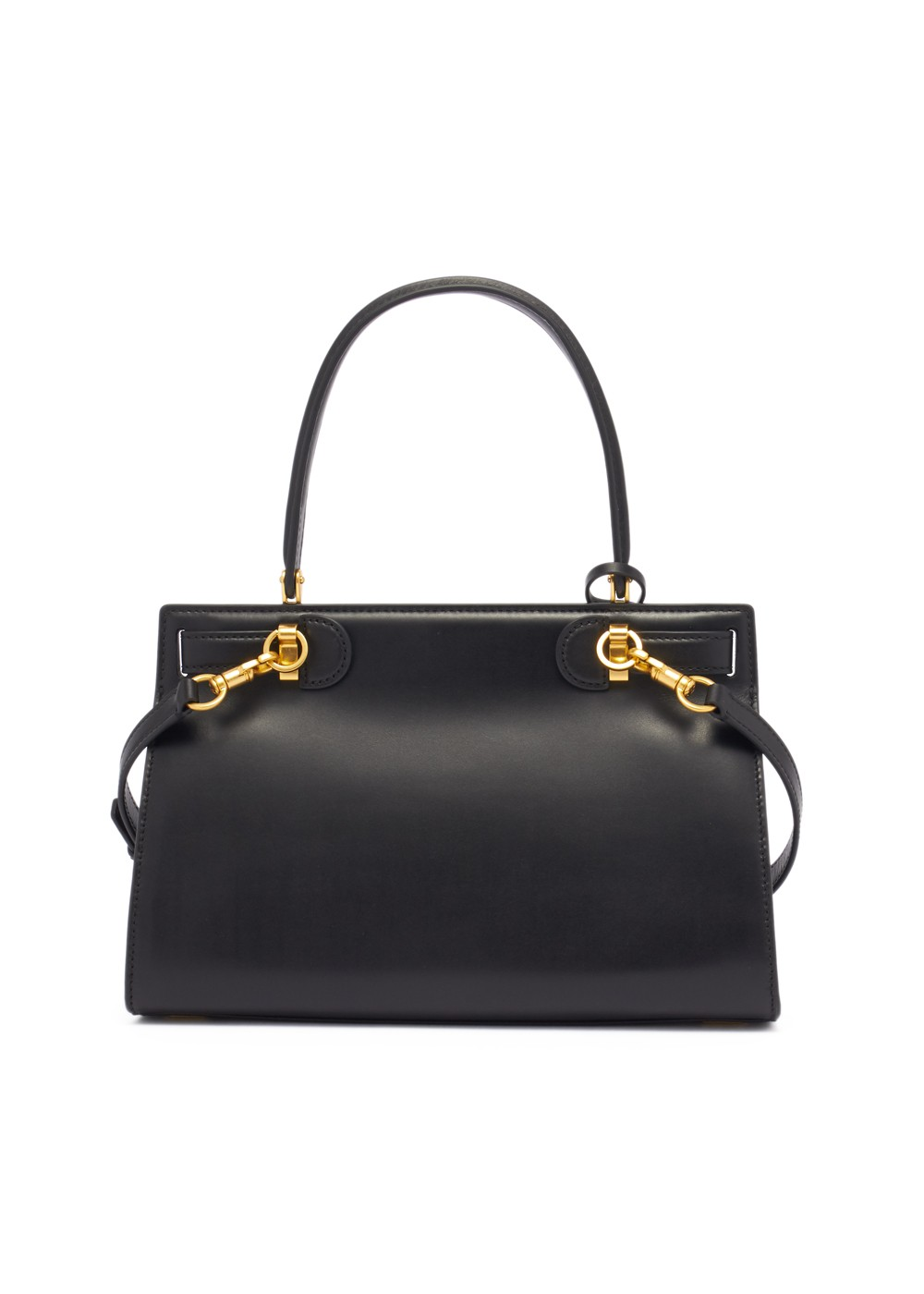 【最大47%OFF】LEE RADZIWILL SMALL SATCHEL|BLACK|ハンドバッグ|Tory Burch