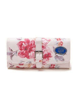 Cath Kidston - 【7/7入荷】長財布 / LARGE FOLDOVER WITH PANEL AND BUCKLE