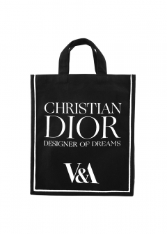 V&A EXCLUSIVE Christian Dior quote tote bag