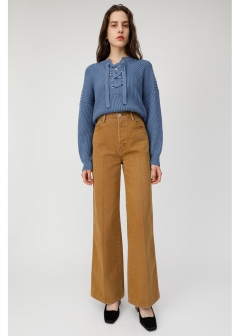 HI WAISTED WIDE LEG PANTS