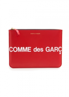 COMME des GARCONS - 【8/1入荷】HUGE LOGO WALLET POUCH