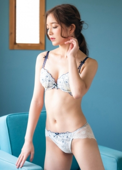 fran-de-lingerie - Floral Garden フローラルガーデン コーディネートバックレースショーツ