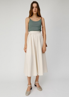 HW GATHER LONG SKIRT