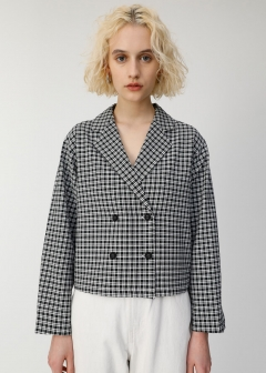 TAILOR COLLAR CHECK SHIRT