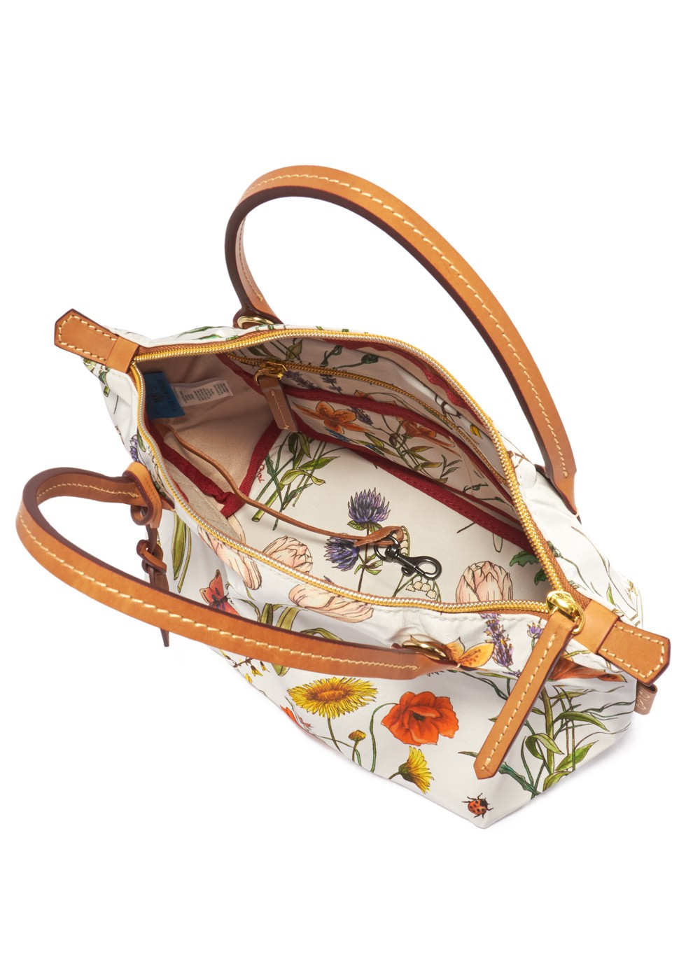 【最大38%OFF】【9/2入荷】【'19年秋冬新作】FLOWER NATURE MINI DUFFLE|WHITE|ハンドバッグ|ROBERTA PIERI