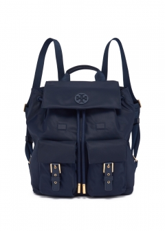 Tory Burch - 【2019年秋冬新作】バックパック / TILDA FLAP BACKPACK 【TORY NAVY】