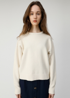 SEED STITCH KNIT TOP