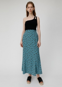VINTAGE FLOWER LONG SKIRT
