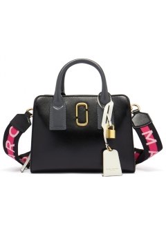MARC JACOBS - 2WAYハンドバッグ / LITTLE BIG SHOT MARC JACOBS 【BLACK MULTI】