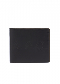 A.P.C. - 【10/30入荷】PORTEFEUILLE ALY LOGO LETTRES