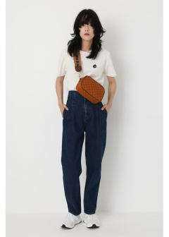 SW HI WAIST DENIM PANTS