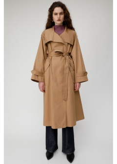 STAND COLLAR TRENCH COAT