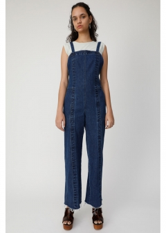 FIT DENIM JUMP SUIT
