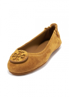 Tory Burch - 【11/5入荷】【'19秋冬新作】MINNIE TRAVEL BALLET WITH LEATHER LOGO