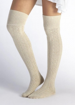 【10/28入荷】ニーハイソックス/SLOUCHY SPECKLE THIGH HIGH SOCK