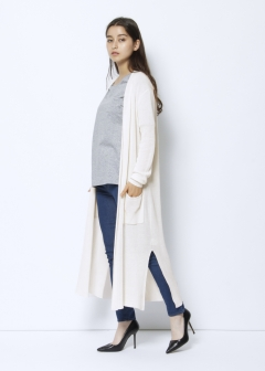 URBAN RESEARCH warehouse - Tops & Onepiece - 片畦ロングカーディガン