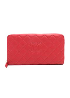 4ee9468d277f 長財布ラウンドファスナーA80695|レッド|レディース財布|CHANEL(B)|ファッション通販サイトMUSE&Co.