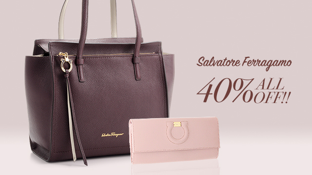 【週末限定】Salvatore Ferragamo - ALL40%OFF