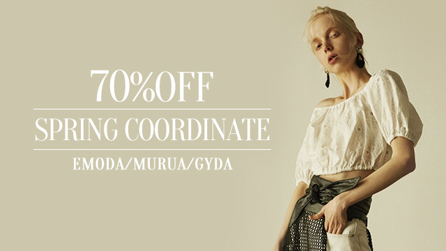 【70%OFF】SPRING COORDINATE