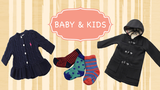 【BABY & KIDS】BURBERRY / FENDI / Ralph Lauren / Paul Smith / marimekko