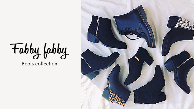 Fabby fabby - Boots collection -