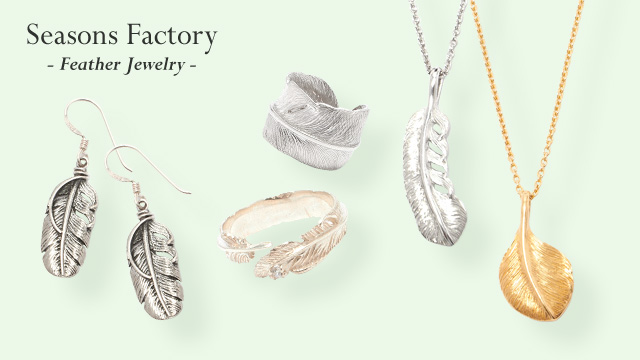 Seasons Factory - Feather Jewelry -