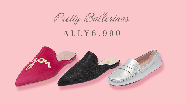 【ALL¥6,990円】Pretty Ballerinas