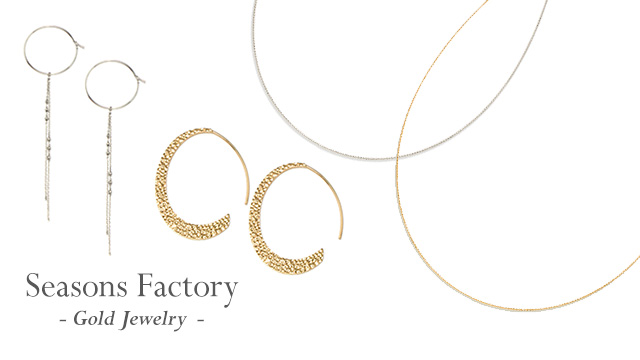 Seasons Factory - Gold Jewelry -