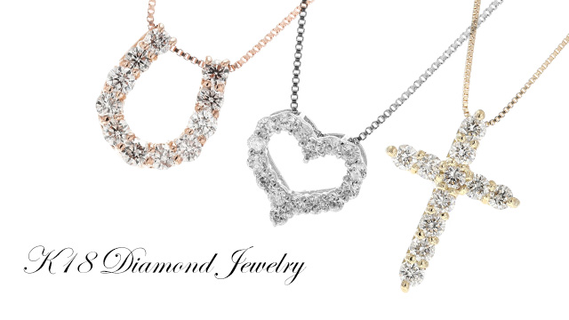 K18 Diamond Jewelry