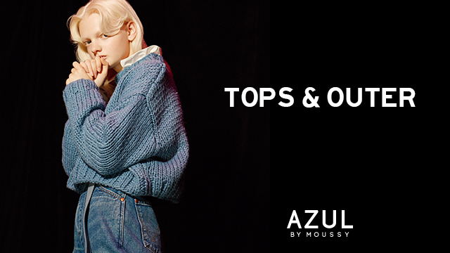 AZUL by moussy トップス&アウター