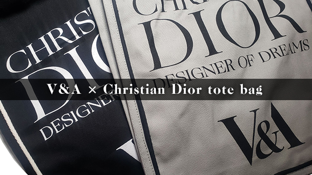 V&A × Christian Dior  tote bag