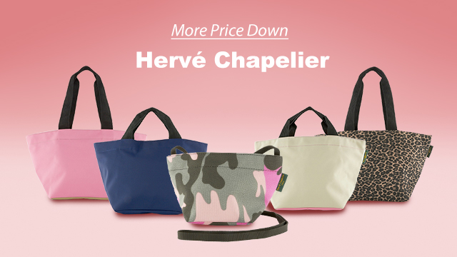 【More Price Down】Herve chapelier