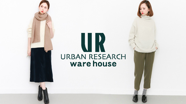 URBAN RESEARCH warehouse - Outer & Bottoms & FashionGoods